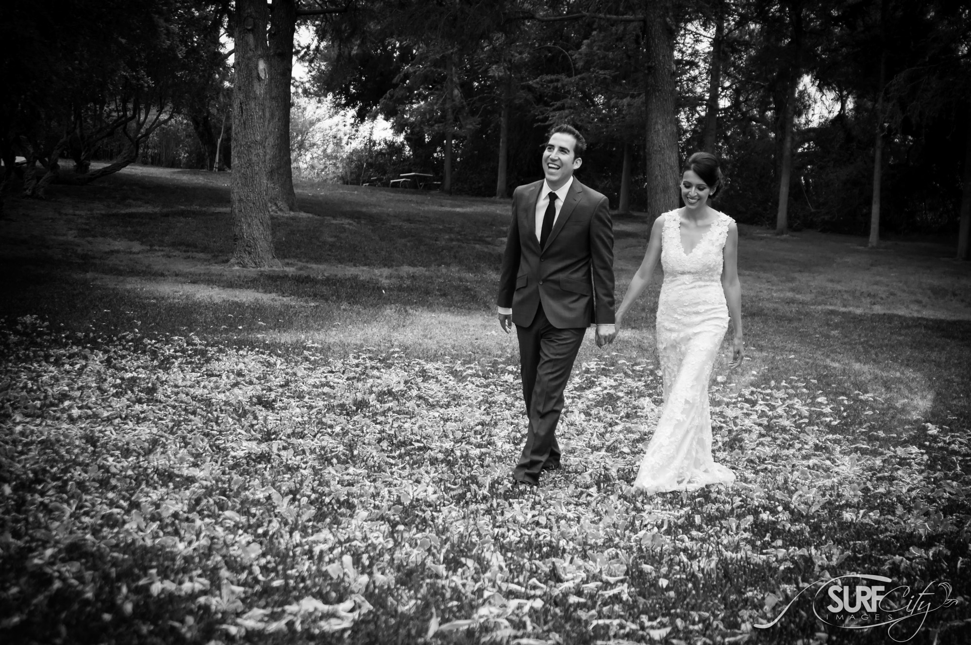 Bride & groom wedding portraits